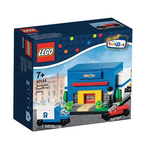 LEGO Bricktober Toys R Us Store 40144 Box