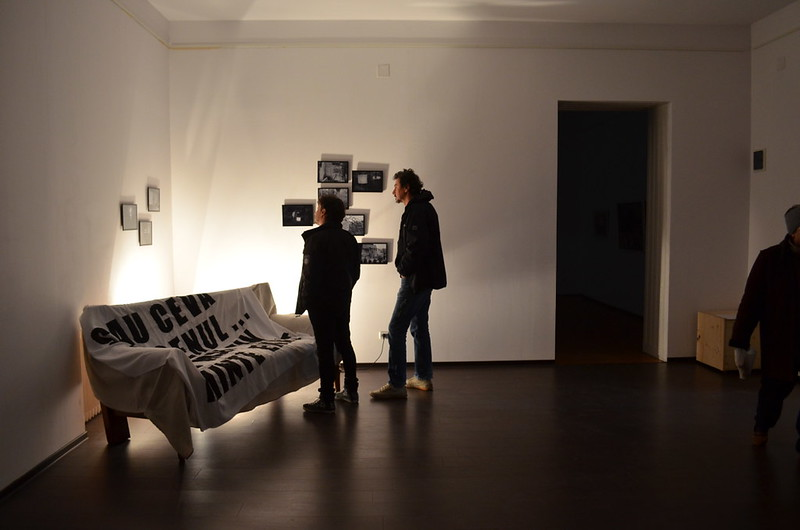 Almost nothing happend - exhibition opening 03.04. 2015