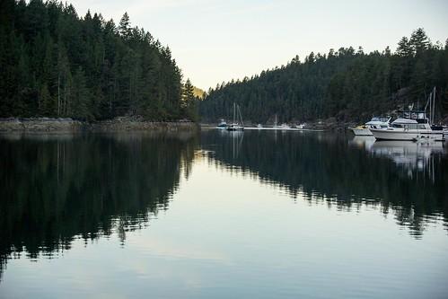 canada sunrise dawn morninglight bc desolationsound prideauxhaven melaniecove homfraychannel brucemcphersonphotography