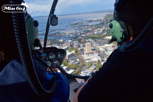 Helicopter Tour of Bellingham