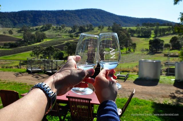 Wine Tasting at Hunter Valley Australia