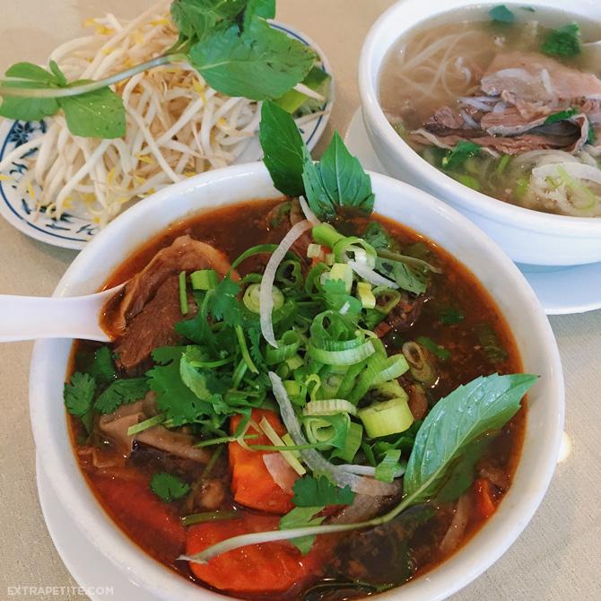vietnamese beef stew noodle soup
