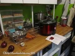 ©Slow Cooking bei unverpacktin Kiel Zutaten Linsensuppe