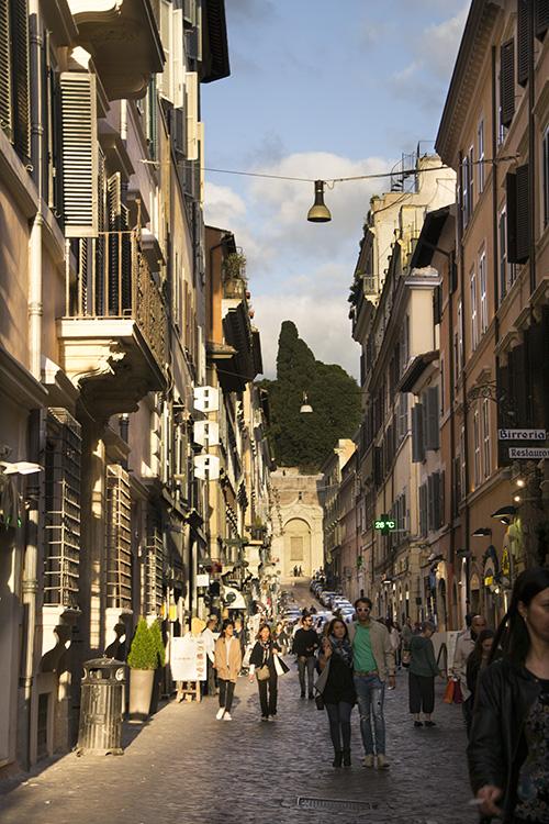 Rome, Via della Croce