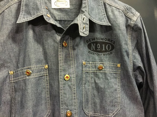 REW10 WORK CHAMBRAY BLUE