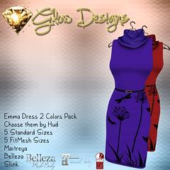 Emma Dress Darks @Designer Circle 115th
