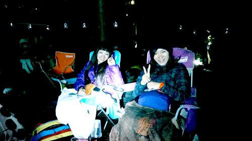夜空と交差する森の映画祭