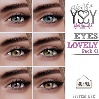 *YS&YS* Lovely Eyes 01 @ TDR
