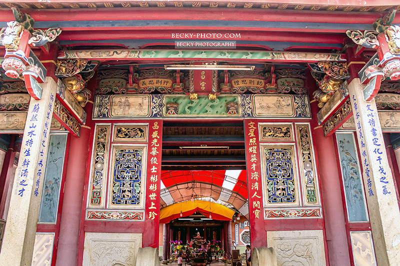 Taiwan's traditional buildings台中文昌廟