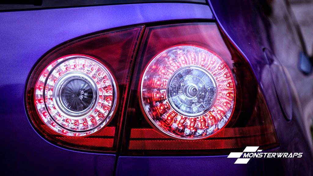 VW Golf R32 Gloss purple wrap | VW Golf R32 Gloss purple met