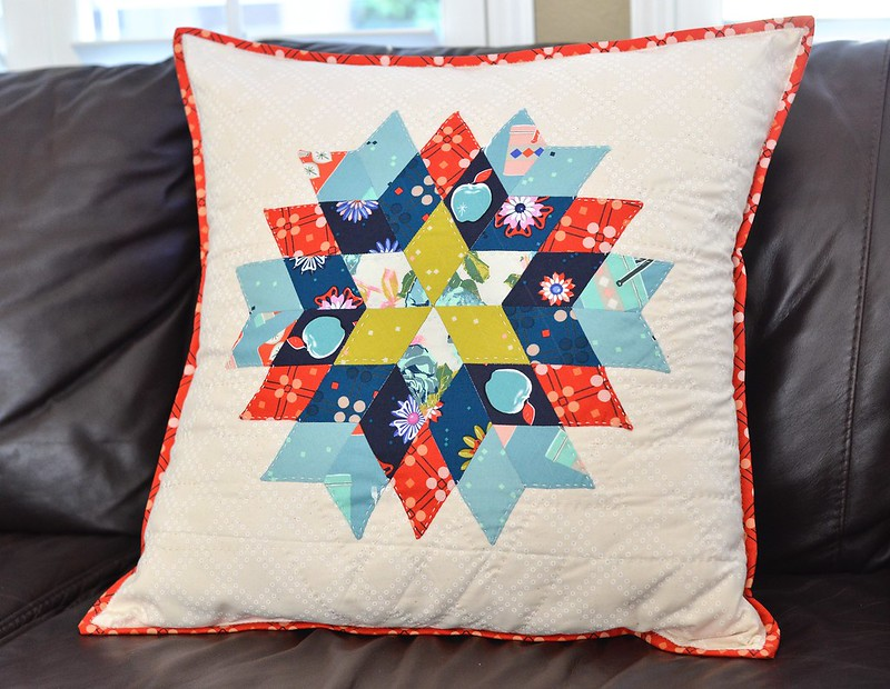 EPP Sew Along Star Pillow