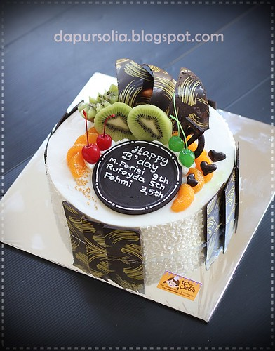 Cheddar Cheese Cake (Farisi 9thn)
