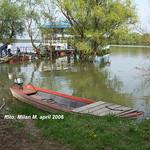 Stogodišnje vode (poplave), april 2006 god. Beograd - Zemun, Zemunski kej. Floods, april 2006, Belgrade - Zemun, Zemunski kej.