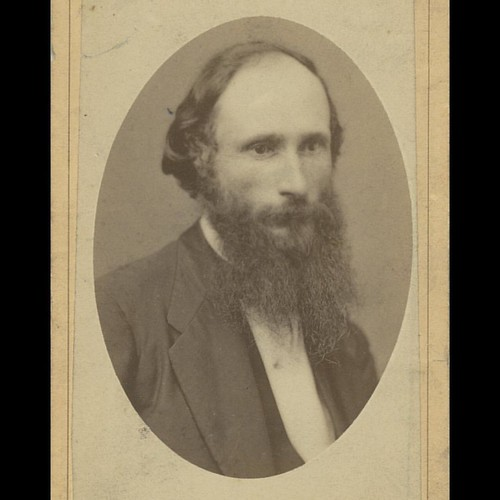 In honor of #NoShaveNovember, we #flashbackfriday to this photo of the school's first president, James K. Patterson. Photo courtesy of ExploreUK/@uklibraries.