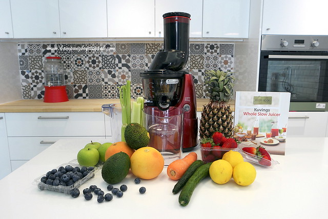 Slow Juicer Taiwan : KBCG Juicing with Kuvings - KAMPUNGBOYCITYGAL