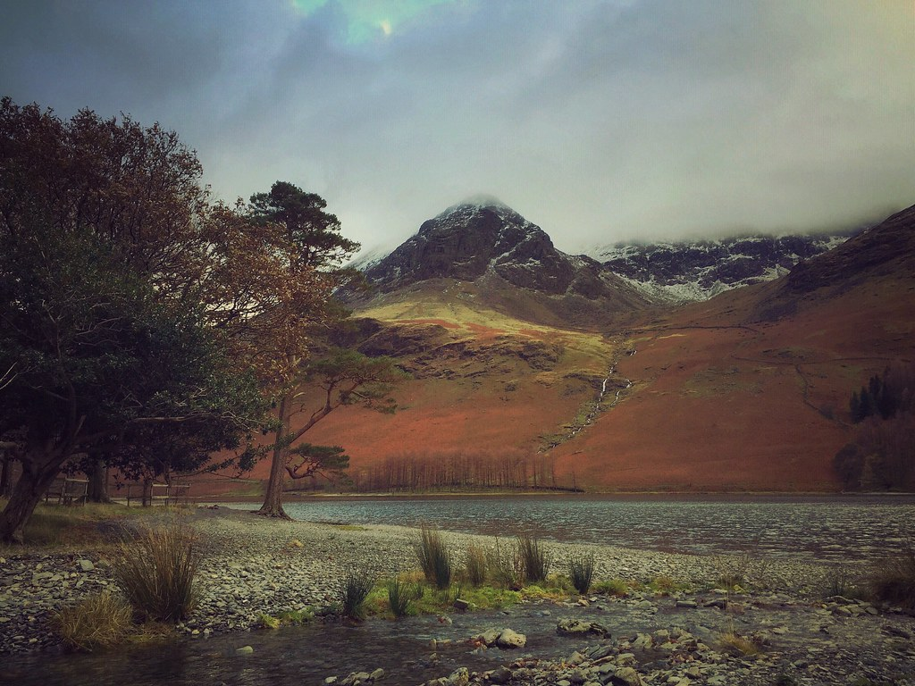 High Stile from Hassness, Buttermere, Cumbria
