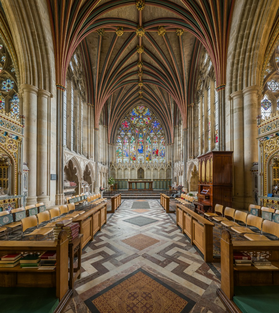 Exeter Cathedral - The Lady Chapel. Credit: David Iliff