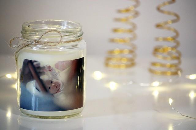 valokuva kynttilään