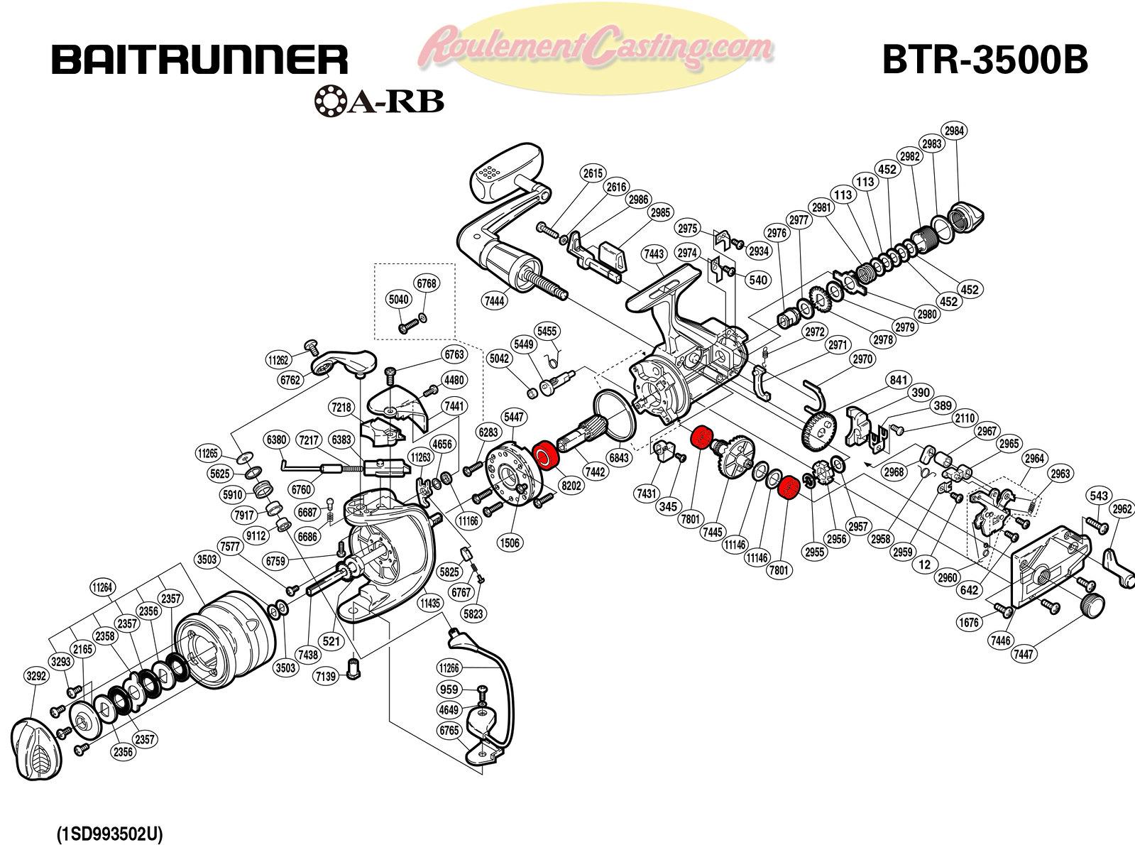 Schema-Shimano-BAITRUNNER-3500B