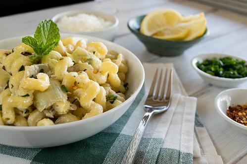 bright and delicious pasta