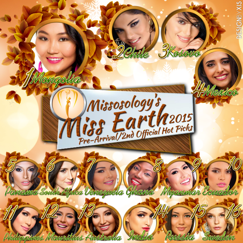 MISS EARTH 2015