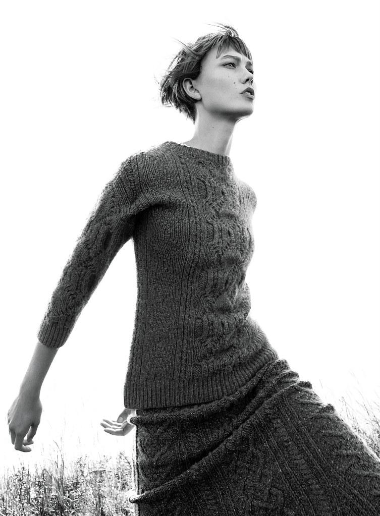 Карли Клосс — Фотосессия для «Vogue» 2015 – 3