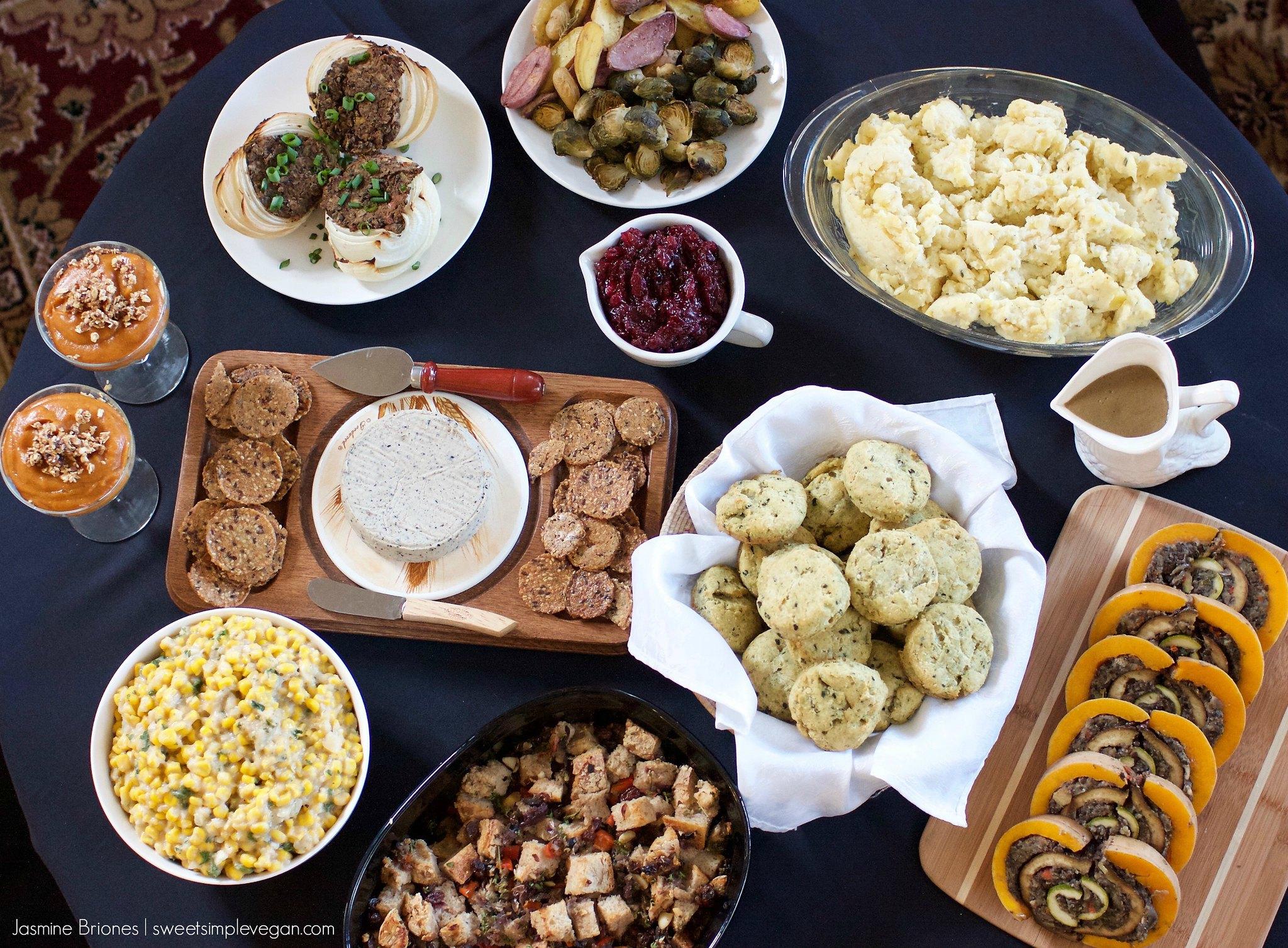 Healthy Thanksgiving Menu For 2
