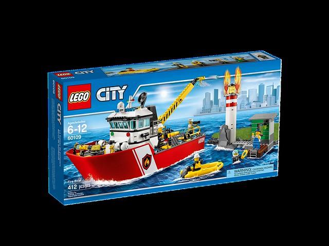 LEGO City 60109 - Fire Boat