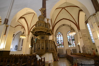 Pulpit - Riga Cathedral