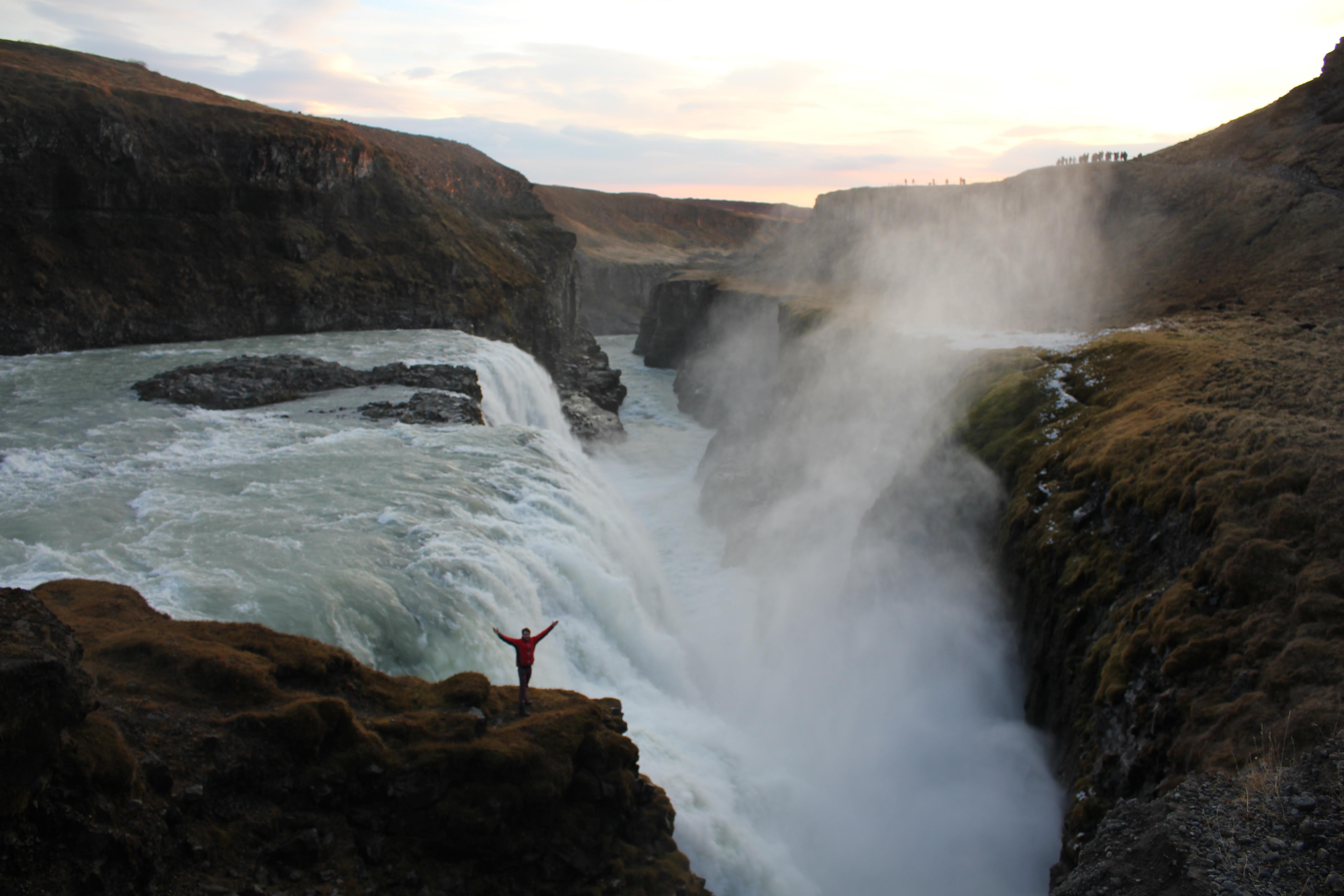 Munro Moffat, volunteer in Iceland