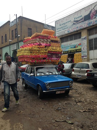 Transport in Addis Ababa.
