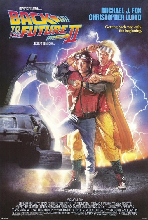 Back to the Future - Part II - Poster 2