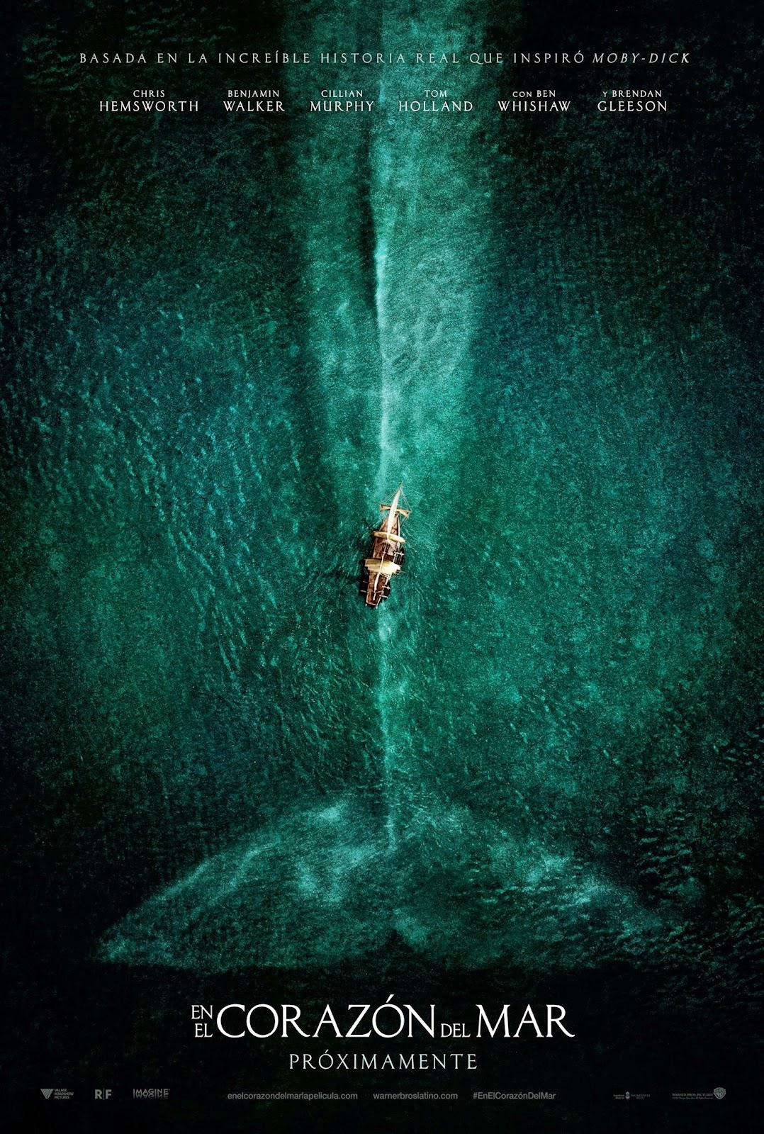 En el corazón del mar - Estreno de cine