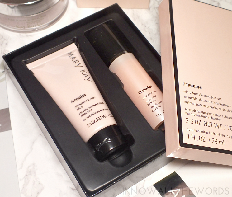 the holiday papmer mary kay timewise microdermabrasion plus set