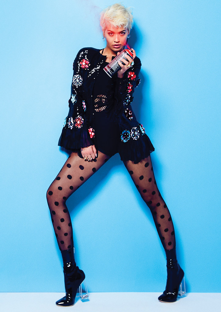 Рита Ора — Фотосессия для «Elle» CA 2015 – 3