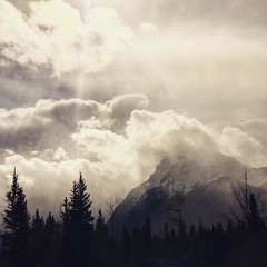Storm clouds over Kananaskis from last week. #kananaskiscountry #kananaskis #mountains #mountainlife #mountainphotography #canadianrockies #rockymountains #sunset #sunsetphotography #follow4follow #followforfollow #followme #instagood #instafollow #instag
