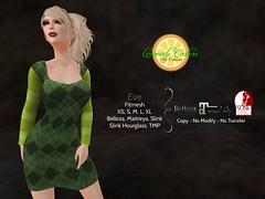 Eve Argyle Fitmesh Dress