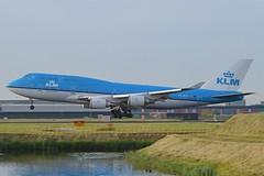capture KLM B747