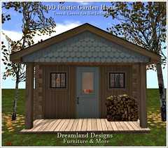 DD Rustic Garden House Vendor