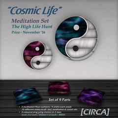"THLH Hunt Prize ~ [CIRCA] - ""Cosmic Life"" - Meditation Set"