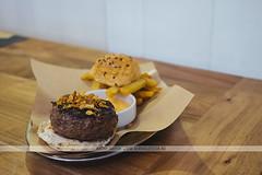Tapas burger - El Pintón, Seville, Spain