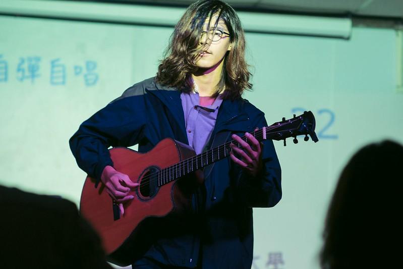 全國師韻獎提供舞台給喜歡音樂的學生。圖/林効賢攝。