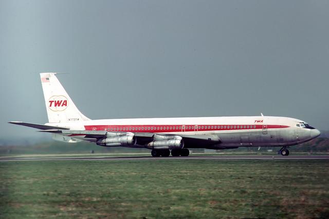 N773TW Boeing 707-331B TWA Trans World Airlines