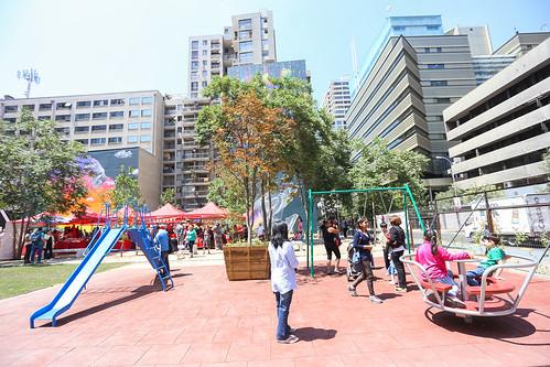 Inauguración Plaza de Bolsillo (Teatinos/Compañia)