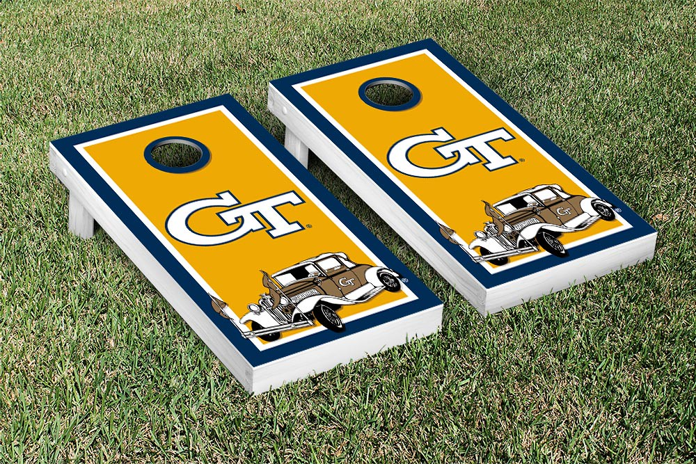 Georgia Tech Yellow Jackets Border Car Version