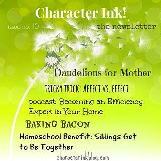 Character Ink! Newsletter issue no. 10