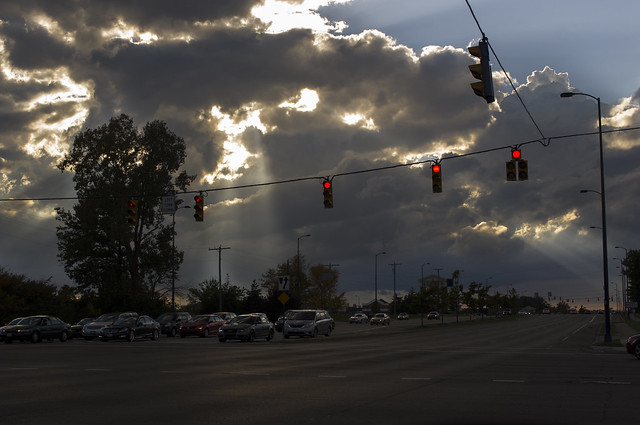 Skylights preceding the Rapture