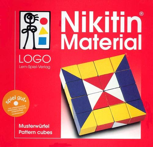 Nikitin Pattern Cubes