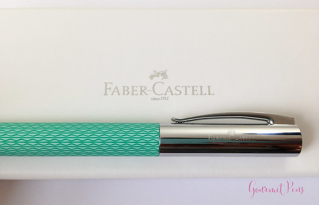Review Faber-Castell Ambition OpArt Aqua Fountain Pen @goldspotpens @FaberCastell (4)