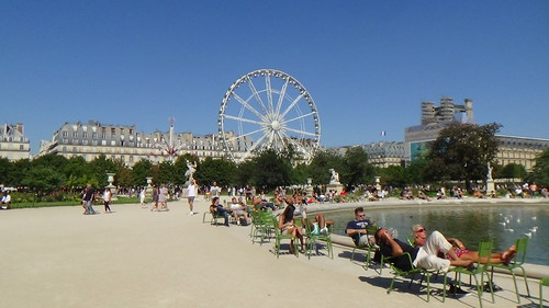 Paris Jardin des Tuileries Aug 15 5